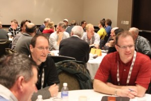 OPCA conference article_OPCA director Bill Rathwell on right leads roundtable discussion