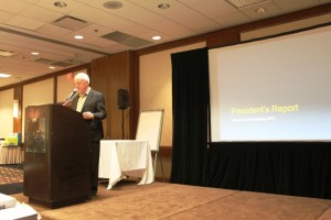 OPCA President Gord Thompson